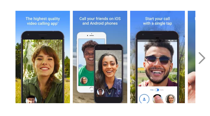 Google Duo Android voice video app