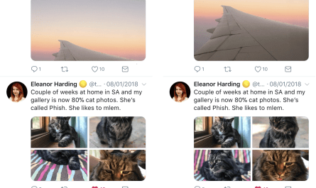 Twitter machine learning auto image cropping