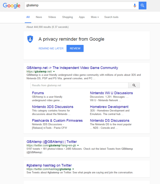 google is now testing a new layout for its search page xanjero