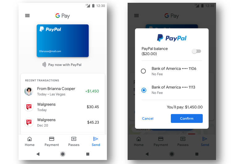 PayPal Users can Now Buy Things and Send Money in All Google Services