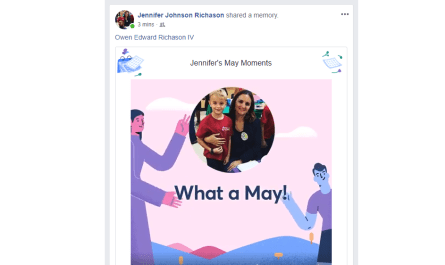 Facebook May Moments video