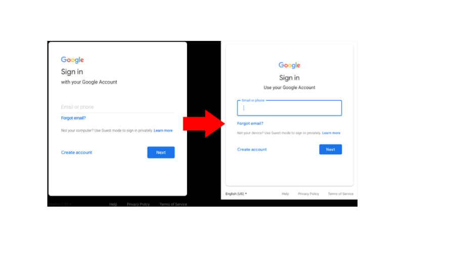 No, It's not a Phishing Attempt, Google did Redesign Its Sign-In Page