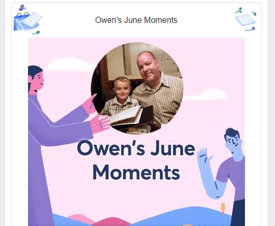 2018 Facebook June Moments video