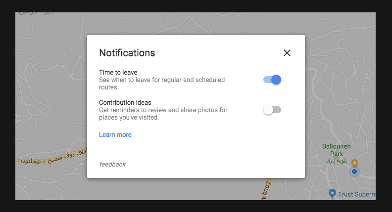 Now, Google Maps for Desktop Notifies Users when to Leave for ... on