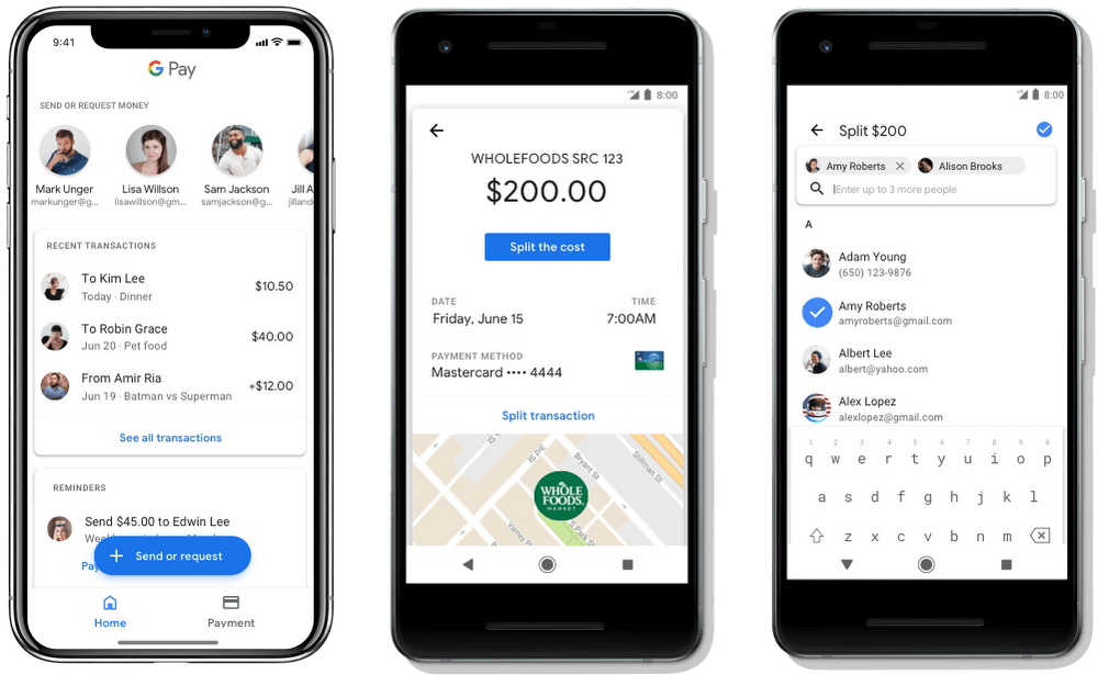 new Google Pay app features