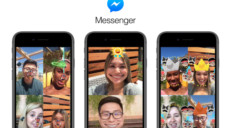 Facebook Messenger AR games