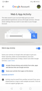disable Google apps location tracking