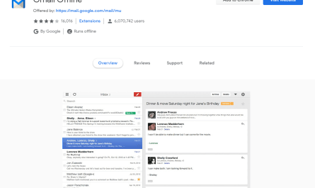 Gmail Offline Chrome app