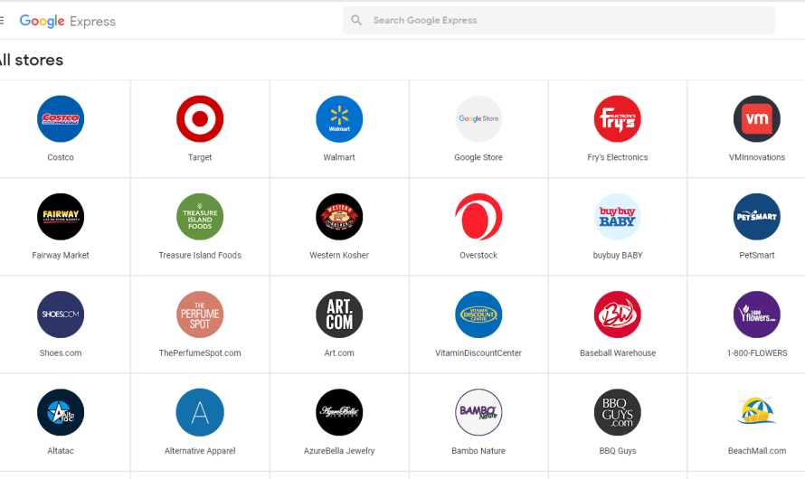 New Google Express Stores Explode in Number amidst Online Retail Growth