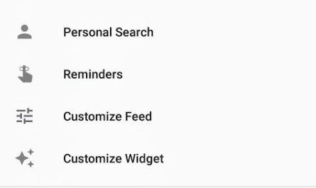 Google App Personal Search Reappears as a Shortcut on Android