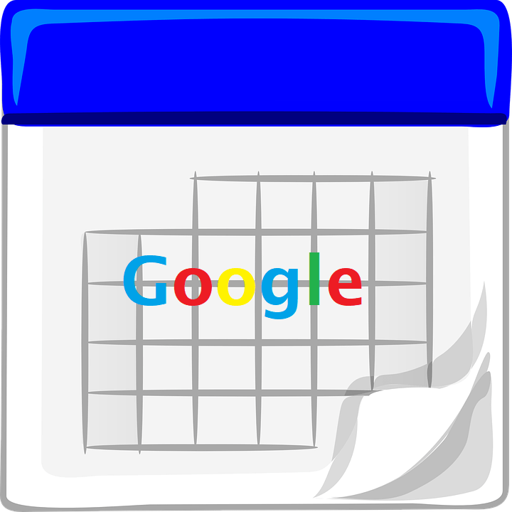 Google search listing dates