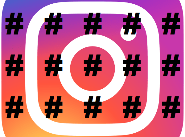 Instagram Add Hashtags section test