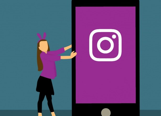 Instagram Explore tap-to-scroll