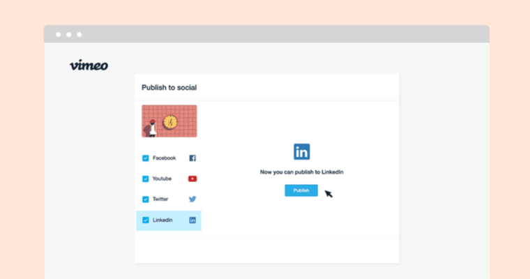 Company Pages on LinkedIn can Now Publish Vimeo Videos