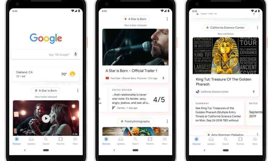 Google Added its Interest-Based Discover Feed to the Mobile Web