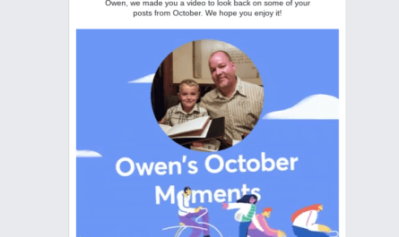 2018 Facebook October Moments video