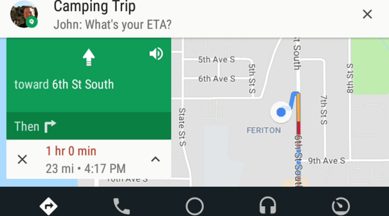 Android Auto music and messaging updates