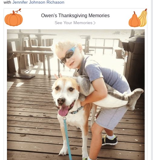 Facebook Thanksgiving Memories Picture Collage Now Available