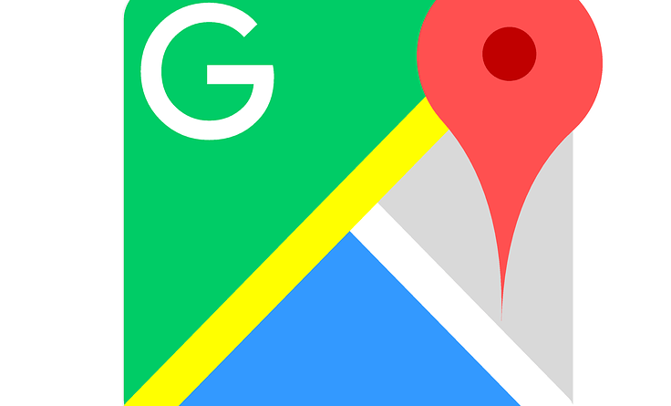Google Maps side menu Material Design