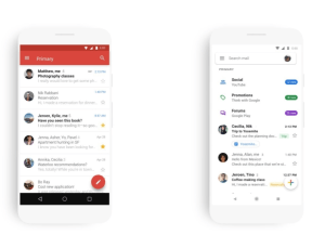Gmail Material Theme changes