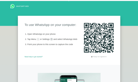 WhatsApp Web picture-in-picture