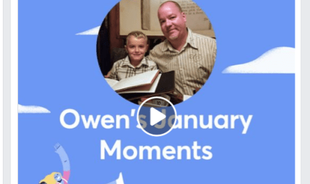 2019 Facebook January Moments video