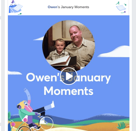 2019 Facebook January Moments Video Rolls Out to Android, iOS, Desktop