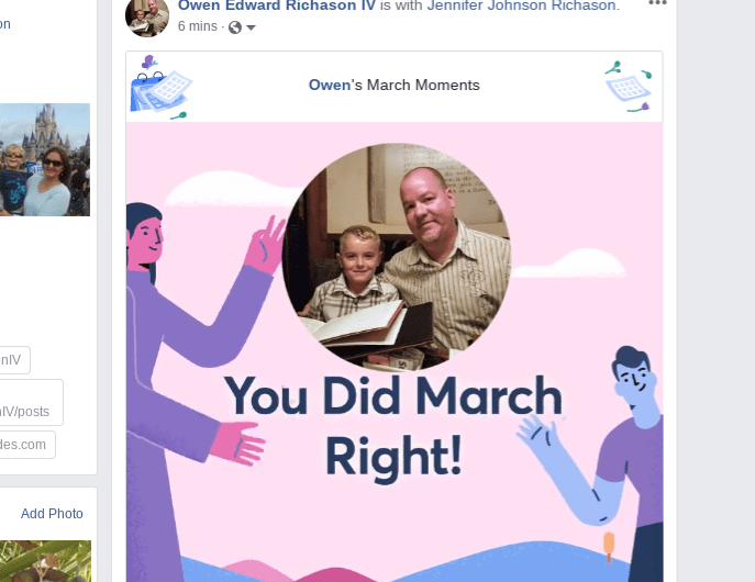 2019 Facebook March Moments Video Rolls Out to Android, iOS, and the Web
