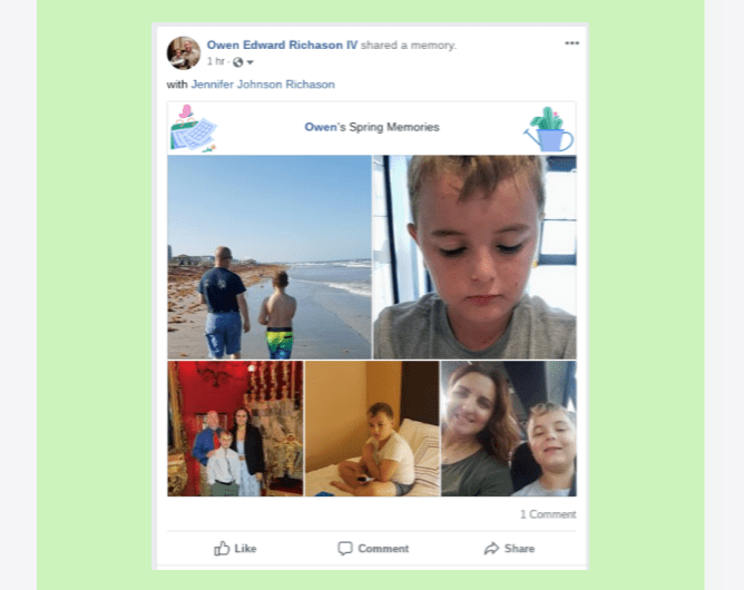 2019 Facebook Spring Memories Roll Out to Android, iOS, and the Web