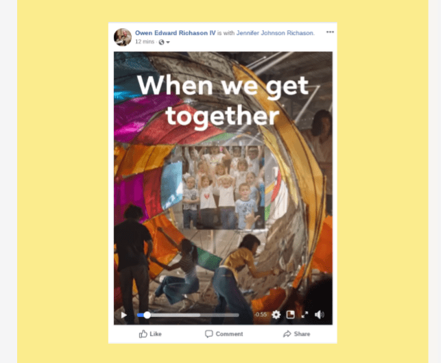 Facebook 'The Moments That Bring Us Closer' Video Rolls Out to Android, iOS, Desktop