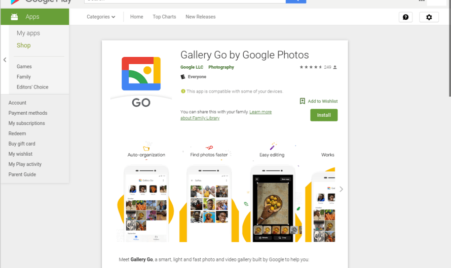 Google Introduces Gallery Go for Android while Google Photos Surpasses 1 Billion Users