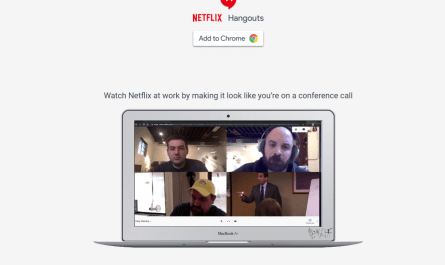 Netflix Hangouts Chrome extension