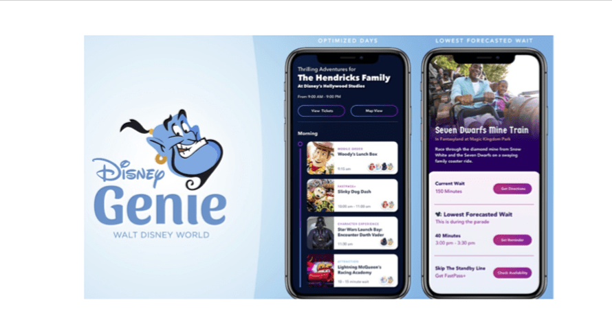 Disney Introduces the 'Disney Genie' Custom Itinerary App