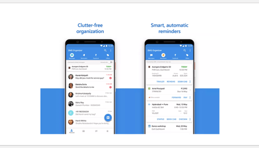 Microsoft Introduces an Android App called SMS Organizer which Filters Out Spam
