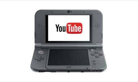 Nintendo 3DS YouTube support