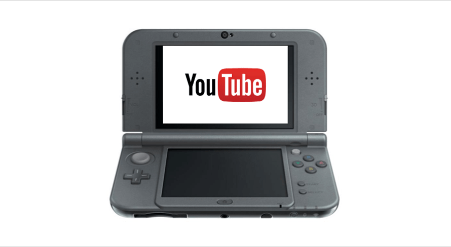 The YouTube App for the Nintendo 3DS Game Console Discontinues Support on September 3rd