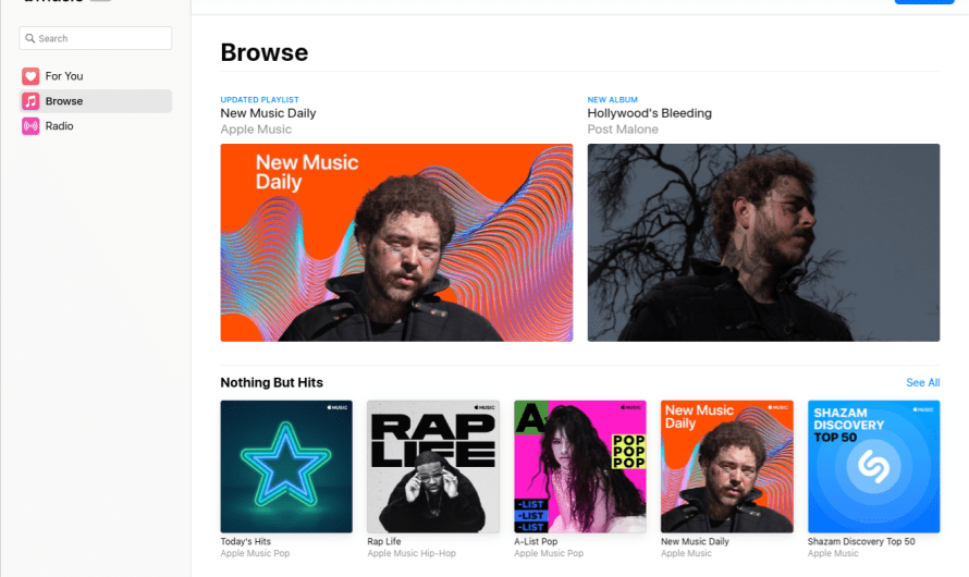 Apple Brings Apple Music to the Web for Desktop