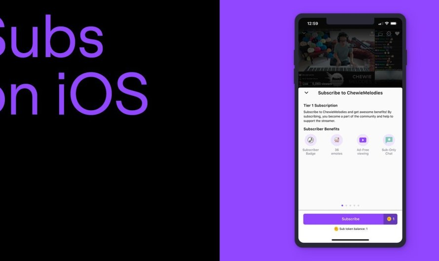 iOS Device Owners can Now Subscribe to Twitch Streamers (but Doing so Costs a Dollar More than Desktop)
