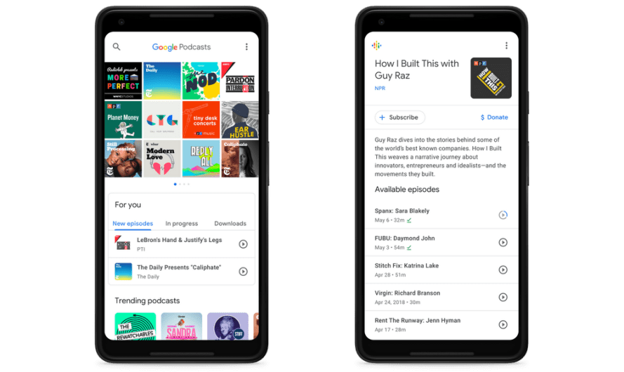 Google Finally Adds Personalized Recommendations to Google Podcasts (Still, the App Remains Lacking)