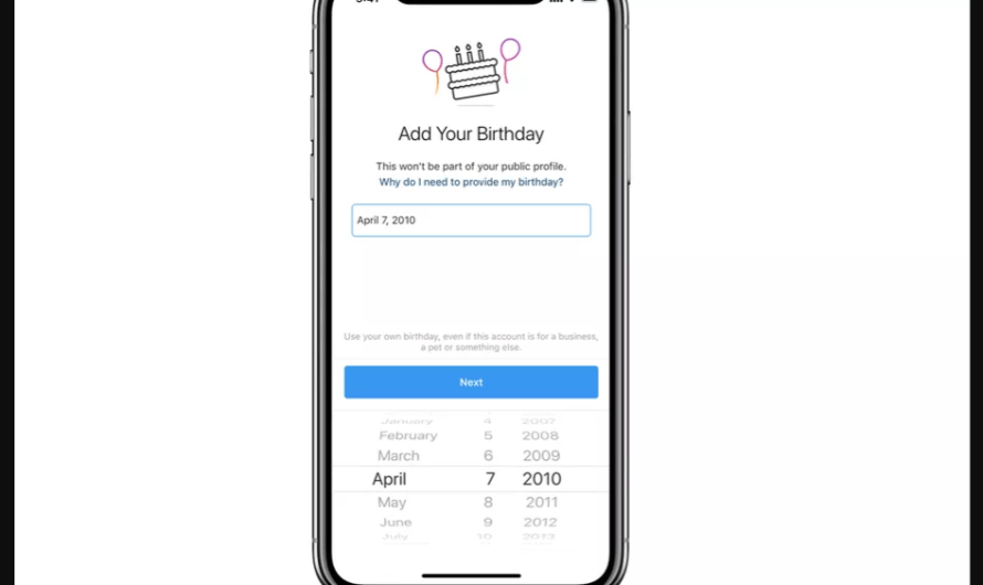 Instagram is Requiring New Sign-Ups to Provide their Age in Order to Join