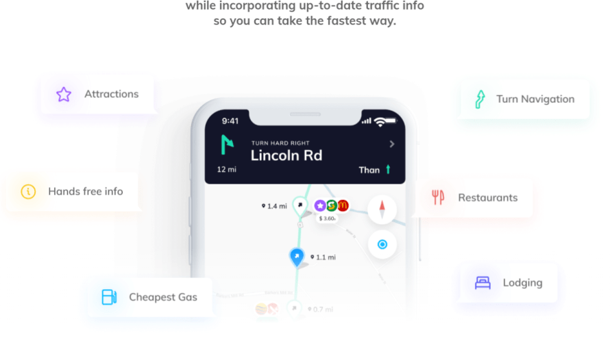 Here's a Super Helpful, Smart Feature this New Navigation App has Over Competitors Google Maps and Waze
