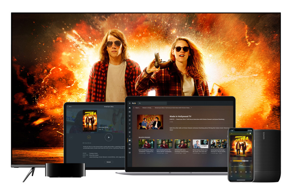 new Plex free ad-supported streaming service