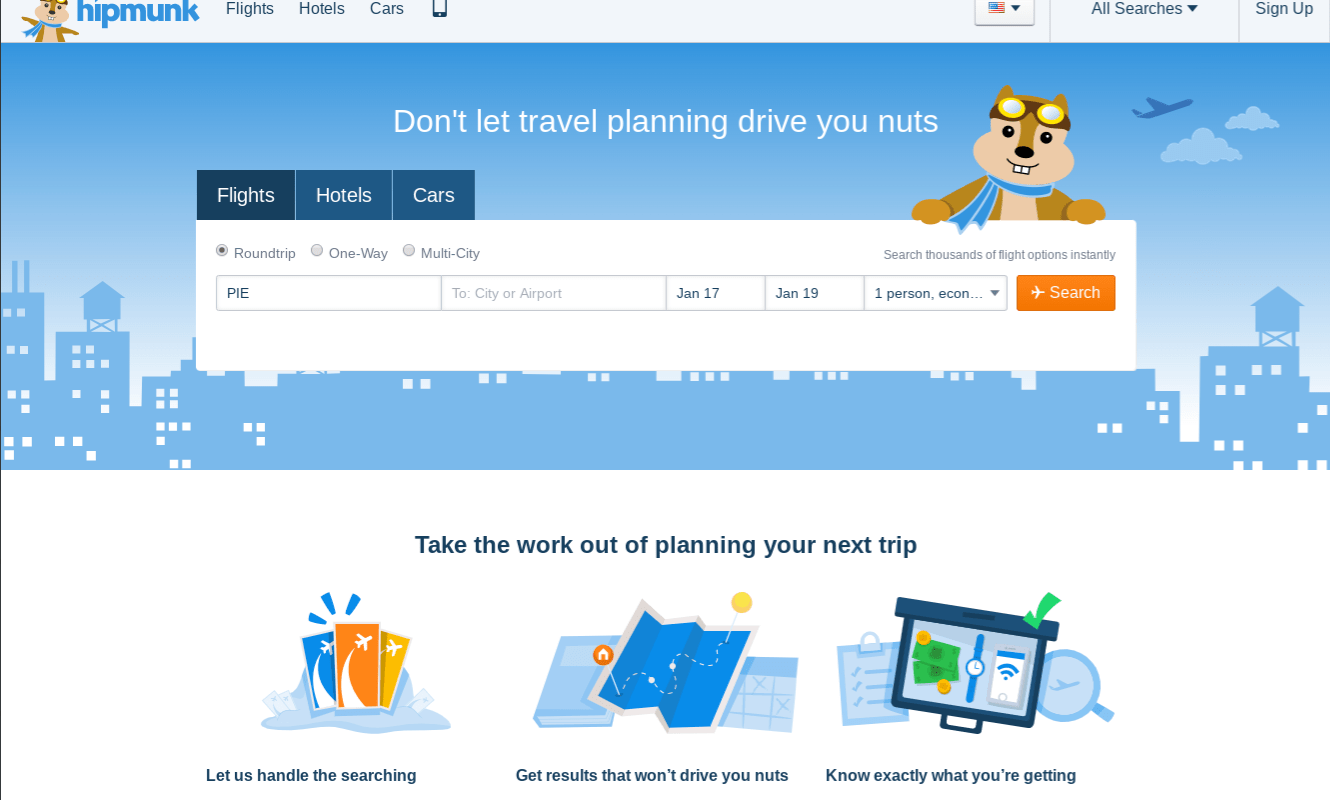 Hipmunk travel search engine to shut down January 23 2020
