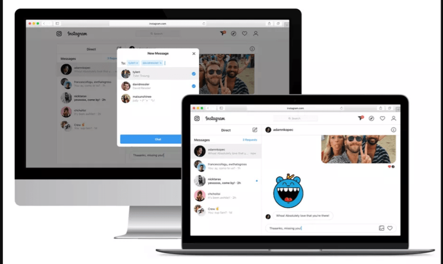 Instagram Finally brings DM Support to the Web, Starting with a Select Group of Users