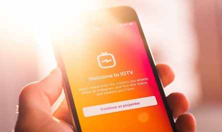 Instagram removes IGTV button