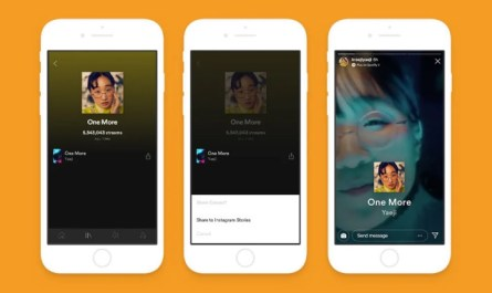 Spotify Canvas Stories Instagram support coming