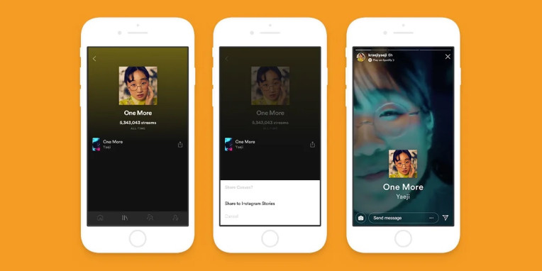 Spofity Stories Loop Videos are Coming to Instagram