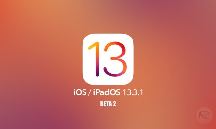 iOS 13.3.1 developer beta version starts rolling out
