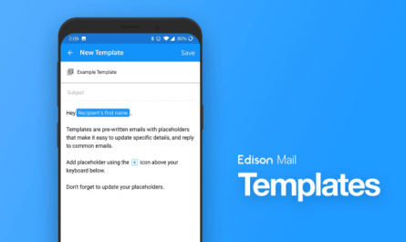Edison Mail now supports templates and rich text editing