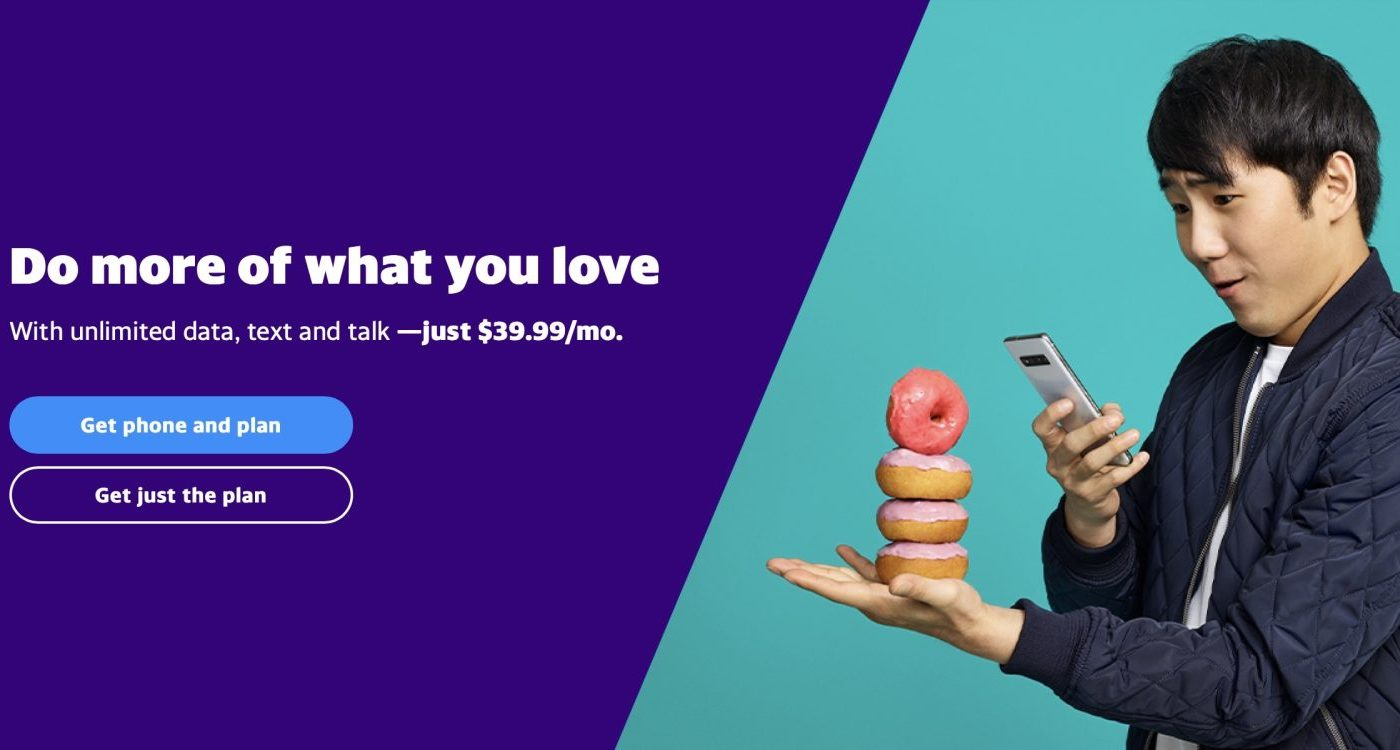 Verizon unveils Yahoo Mobile 4G wireless 40 dollar unlimited plan with no data cap